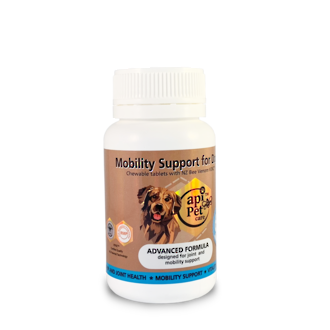 Mobility Support for Dogs. Chewable tablets