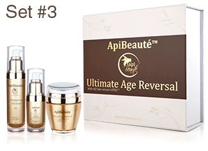 ApiBeaute' Gift Box with Moisturizing Day Cream and Firming Eye Cream and Ultra Lifting Firming Mask