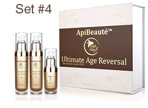 ApiBeaute' Gift Box with Regenerating Night Cream and Moisturizing Day Cream and Firming Eye Cream